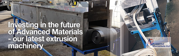 Investing in the future of Advanced Materials - our latest extrusion machinery
