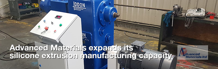 Advanced Materials expands its silicone extrusion manufacturing capacity