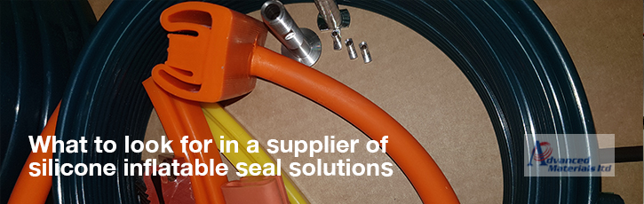 What to look for in a supplier of silicone inflatable seal solutions