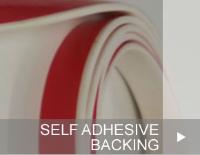 Self Adhesive Backing for Silicone Extrusions