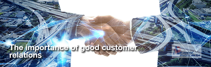 Why building good customer relations is important