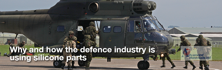 Why and how the defence industry is using silicone parts
