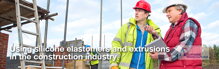 Using silicone elastomers and extrusions in the construction industry